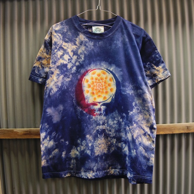 TKHOME FACTORY×GRATEFUL DEAD SYF Mandala×Uneven dyeing T-shirt Medium