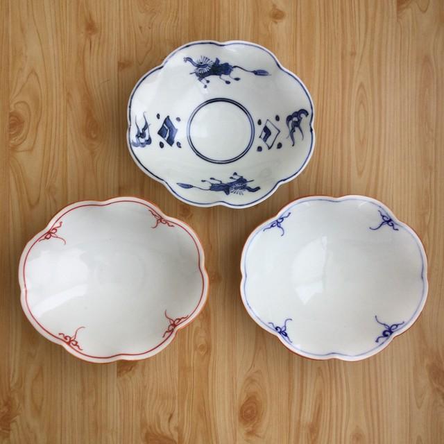 【1点限り*波佐見焼】芙蓉型小鉢(3種)
