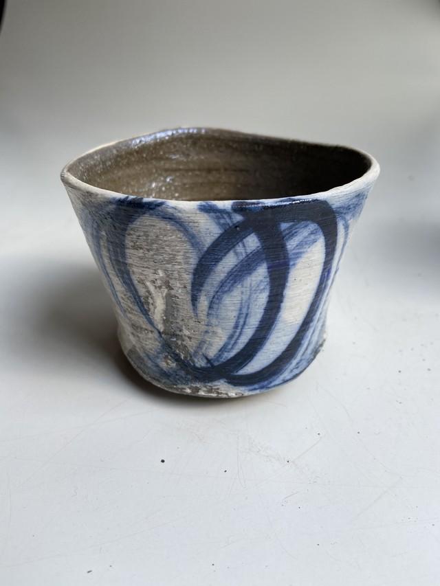 ロックカップ青柄
