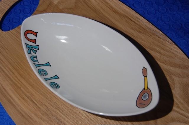 舟形皿 ウクレレ