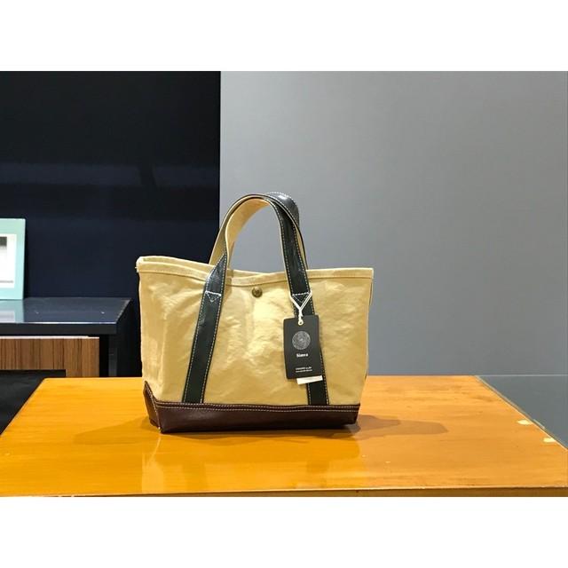 Simva 161-0034 Canvas-Leather Tote Small Multi Color