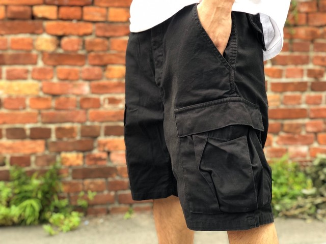 Supreme CARGO SHORT BLACK 34 40JE6011