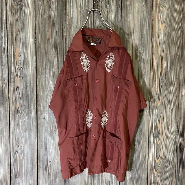 [used]Bordeaux Cuba shirt