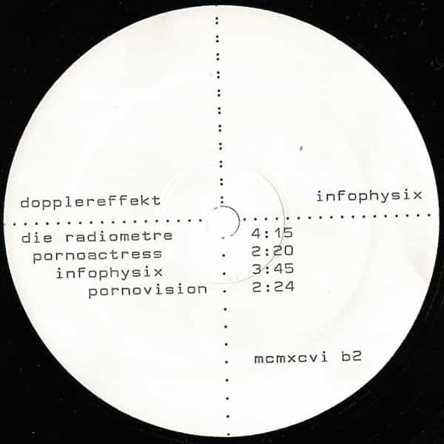 DOPPLEREFFEKT / Infophysix (12 inch)