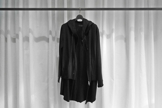 ASKYY / RIBBON COAT / L.GRY