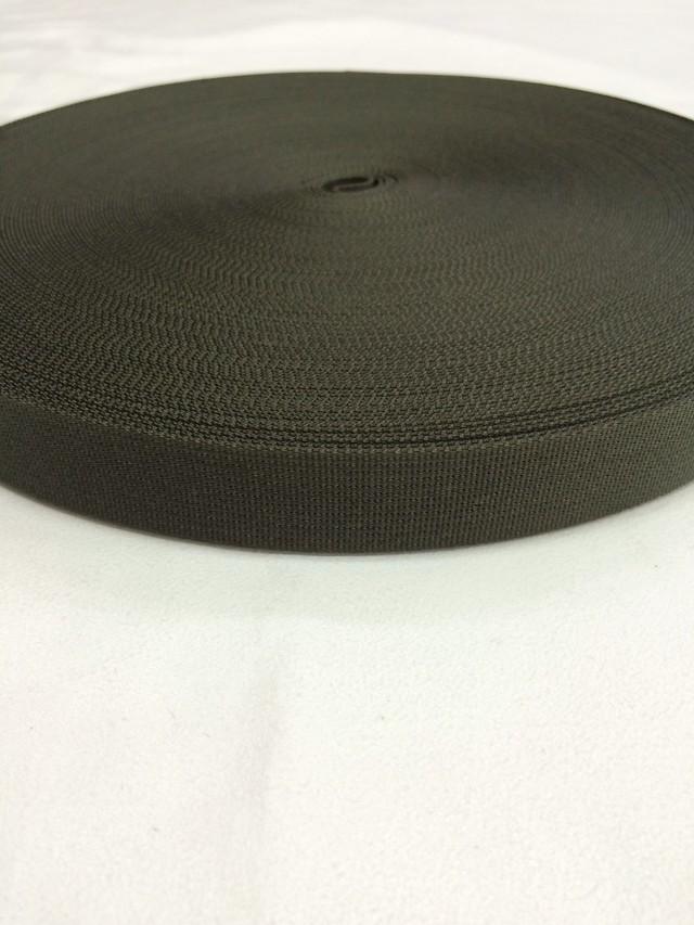 ナイロンテープ 高密度織 20mm幅 1mm厚  カラー(黒以外) 1反(50m)