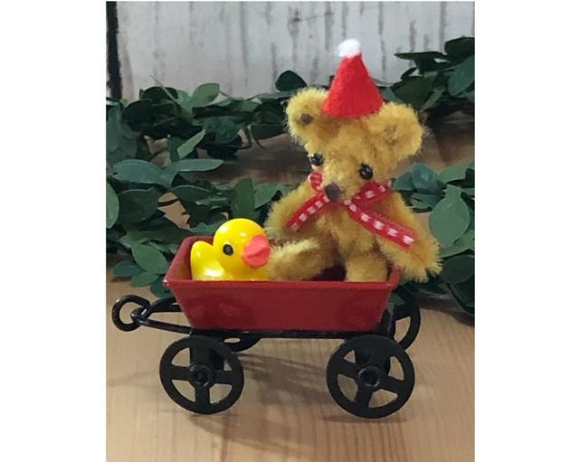 ミニチュアキャリーカートとおもちゃセット【Dセット】