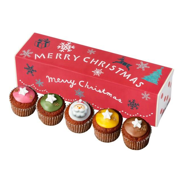 【クリスマスシーズン限定】ベイクドクリスマス 5個入