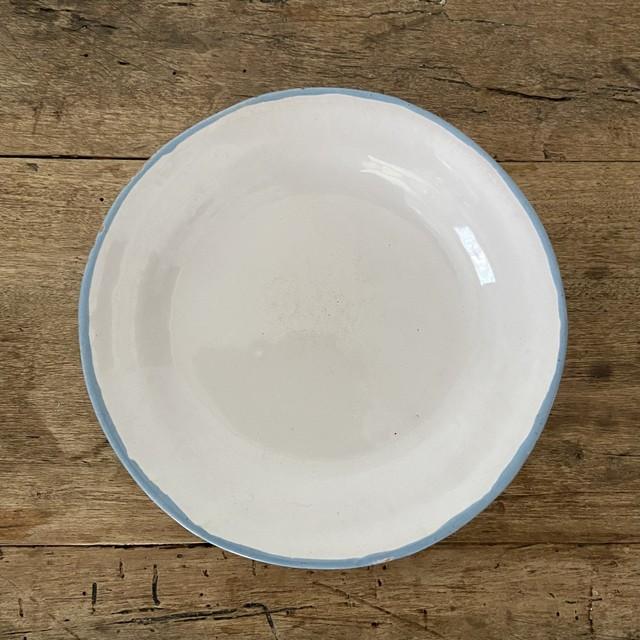 Moustiers Blue rim plate