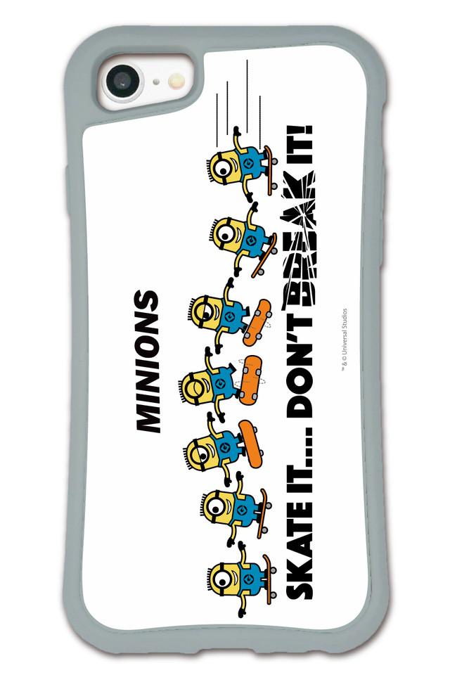 ミニオンズ SKATE IT WAYLLY(ウェイリー) iPhone 8 7 XR XS X 6s 6 Plus XsMax対応!_MK_