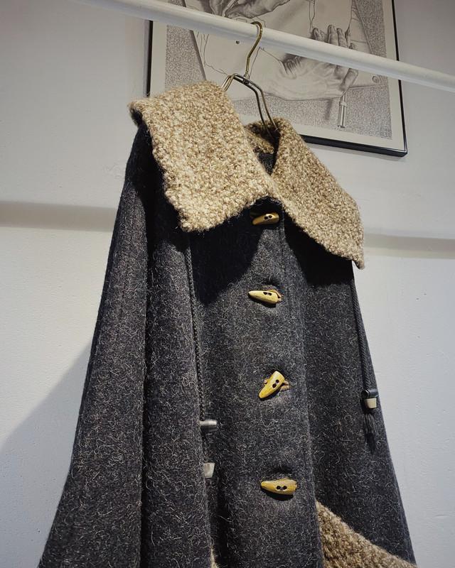 STEINBOCK vintage wool cape