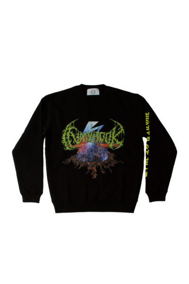 NEO EXPLOSION CREWNECK SWEAT     IMB-19AW-CS002