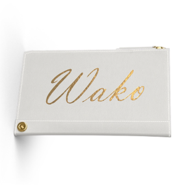 Custom Name Mini Wallet  Premium Smooth Leather (Limited/数量限定8月分)