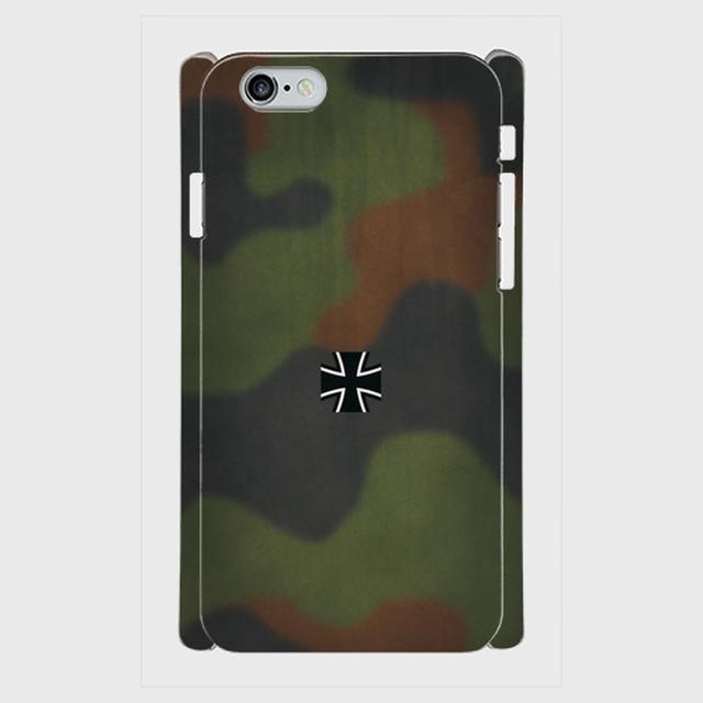 ドイツ連邦軍 フレック(フレクター)迷彩 iPhoneケース