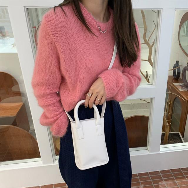 スモールショッピングバッグ 2カラー bag169