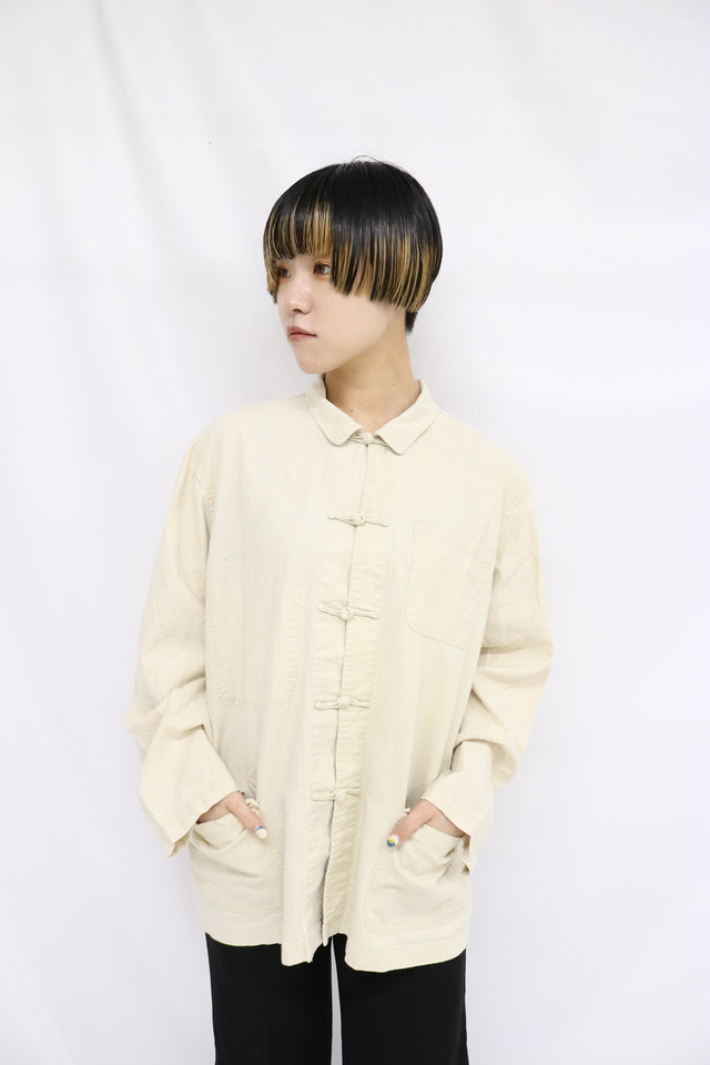 china design shirt / 5SSTP08-21