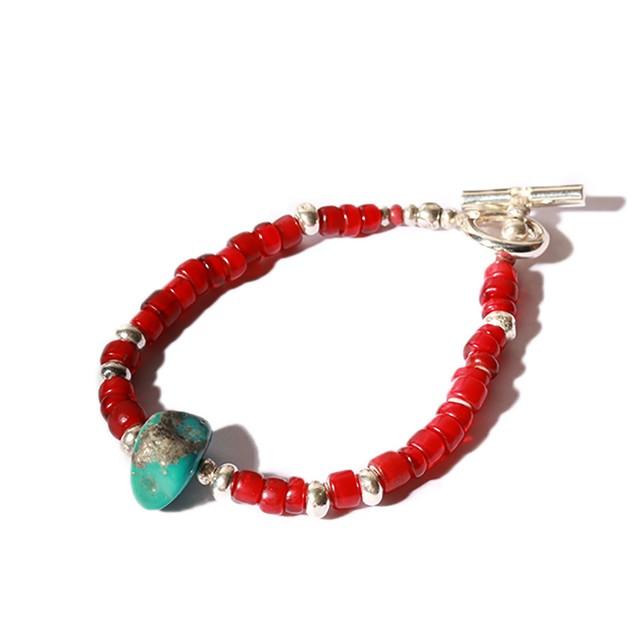 SunKu/サンク Kingman Turquoise Beads [JH-015]
