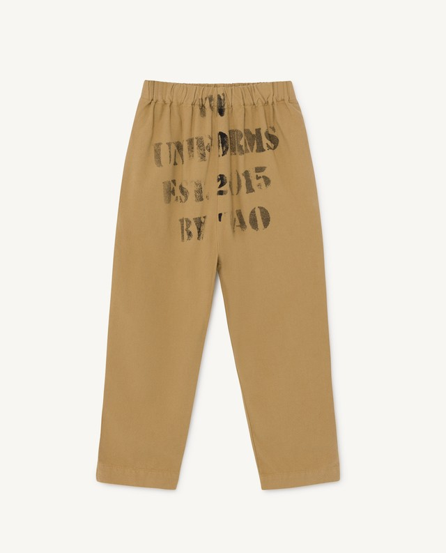 The Animals Observatory  ELEPHANT KIDS PANTS  beige