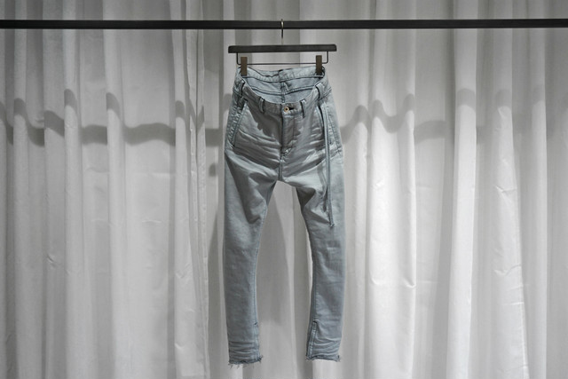 ASKYY / Y DENIM 2ND / GREYSH ICE BLUE