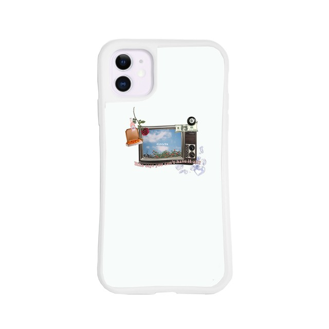 Katy's Dreaming iPhone Case(White)