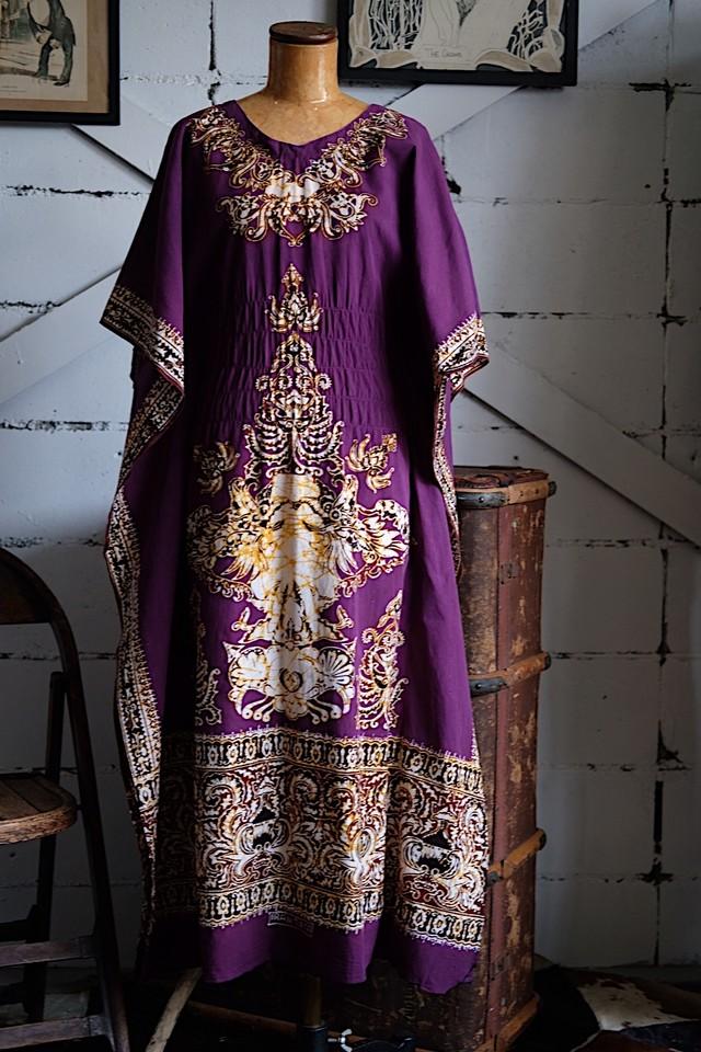 Ethnic purple dress