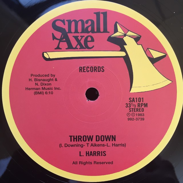 L. Harris / The Sparkles – Throw Down / Trying To Get Over