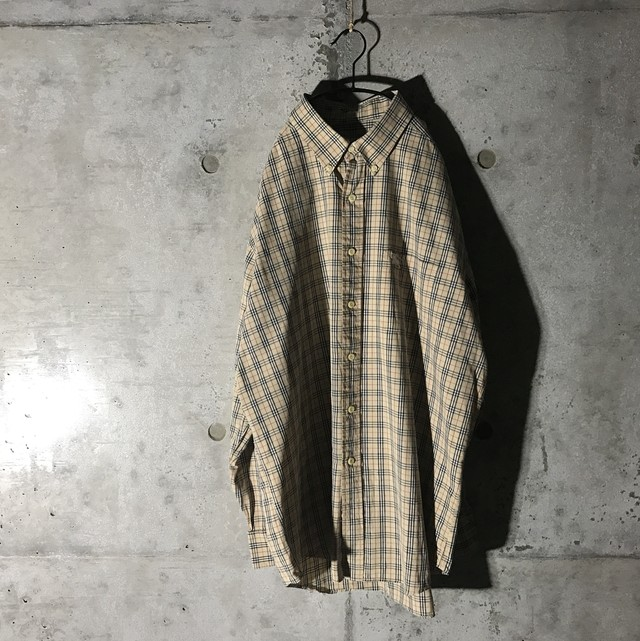 [BURBERRY] nova checked long shirt
