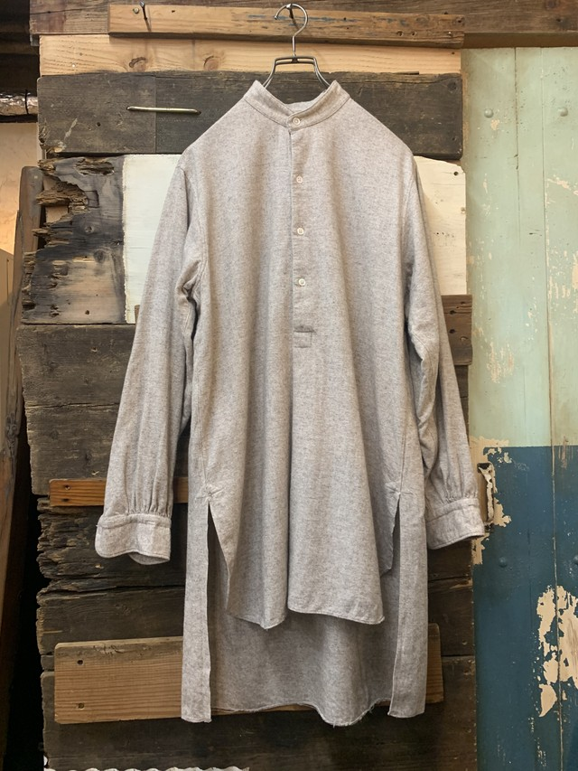 1940-50's french farmers shirt deadstock