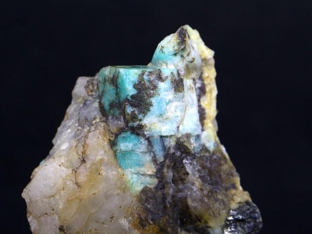 カリフォルニア産アマゾナイト 原石 36.3g AZ005 天然石 標本