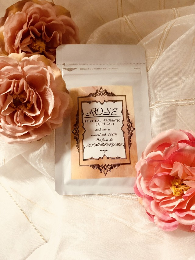 rose bathsalt