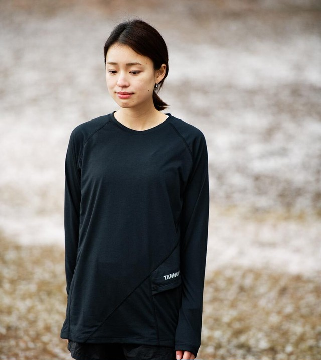 Sato LS Crew Neck: Color Black