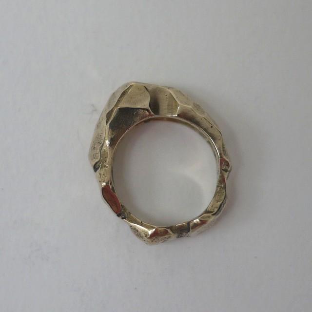 QUARRY  RING Bronze