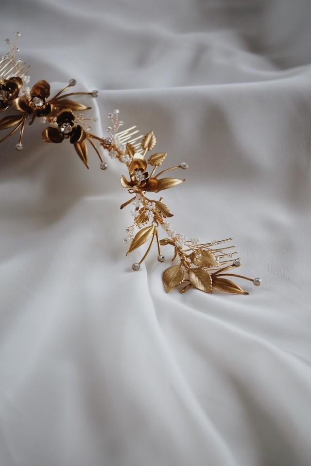 Bridal hairaccessory ・vintage・1002/sale