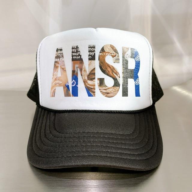 ANSWER COLLECTION / ANSR POP SMOKE GRAPHIC MESH CAP
