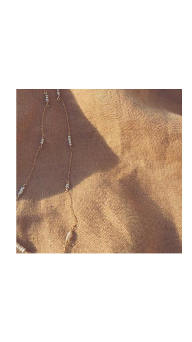 Pearl Chain Necklace パールチェーンネックレス