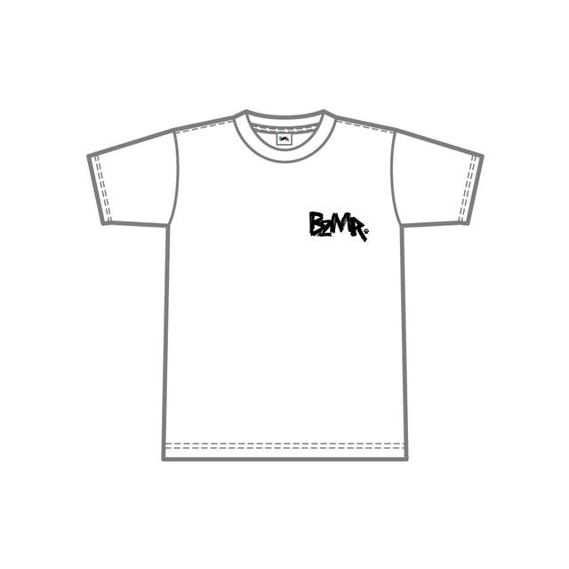 BZMR [One point mono tee] White. - メイン画像