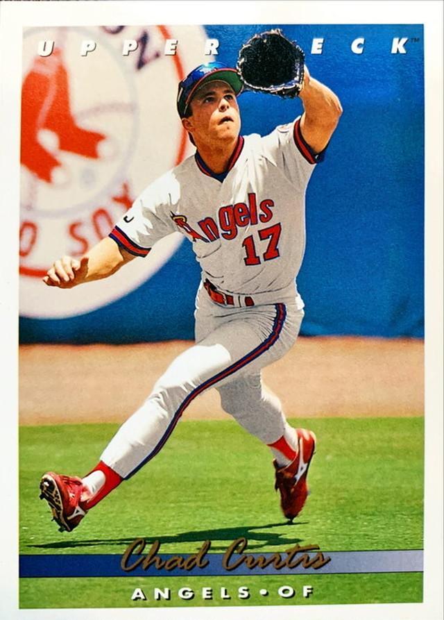 MLBカード 93UPPERDECK Chad Curtis #235 ANGELS