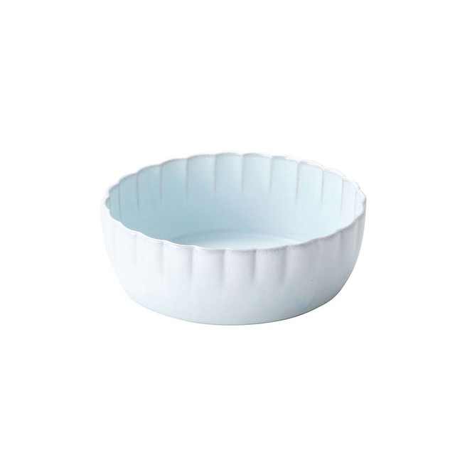 「花 hana」ボウル 皿 14cm みずはだ 瀬戸焼 288017