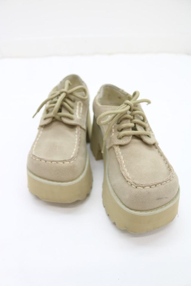 squaretoe platform shoes / GD11120013