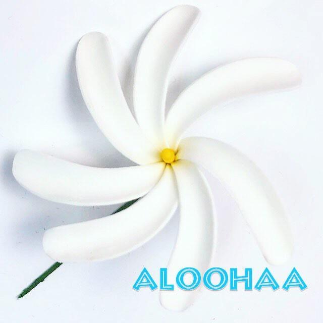 ティアレピック M : ウレタン造花ハワイアン、フラ、タヒチアン、衣装