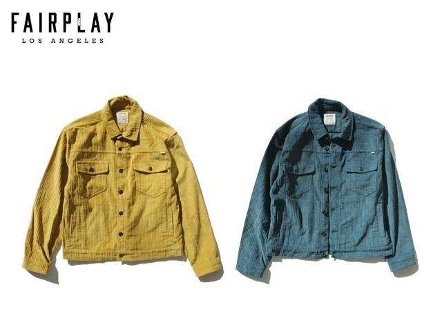 Fairplay|Corduroy Jacket