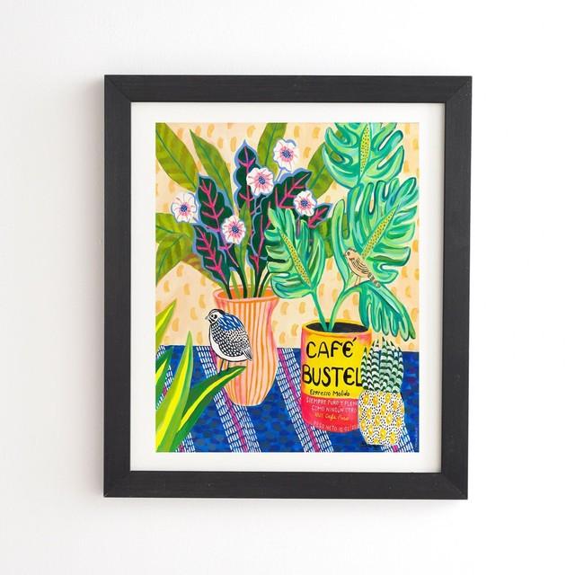 フレーム入りアートプリント BUEN DIA  BY MISHA BLAISE DESIGN【受注生産品: 11月下旬頃入荷分 オーダー受付中】