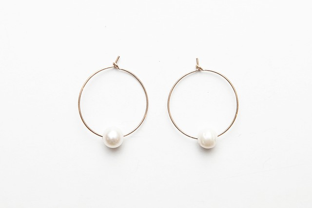 semiround pearl foop pierce