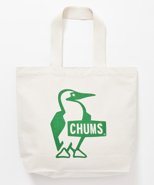 CHUMS (チャムス) Booby Canvas Tote (ブービーキャンバストート) Green(グリーン)