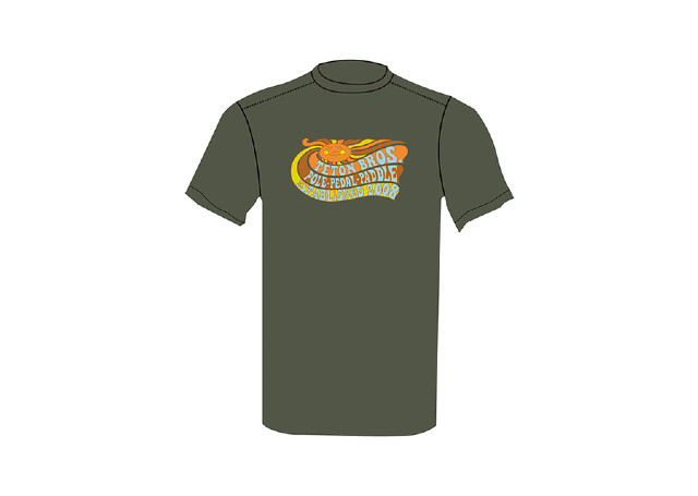 【Teton Bros】 Pole Pedal Paddle Tee(Green)
