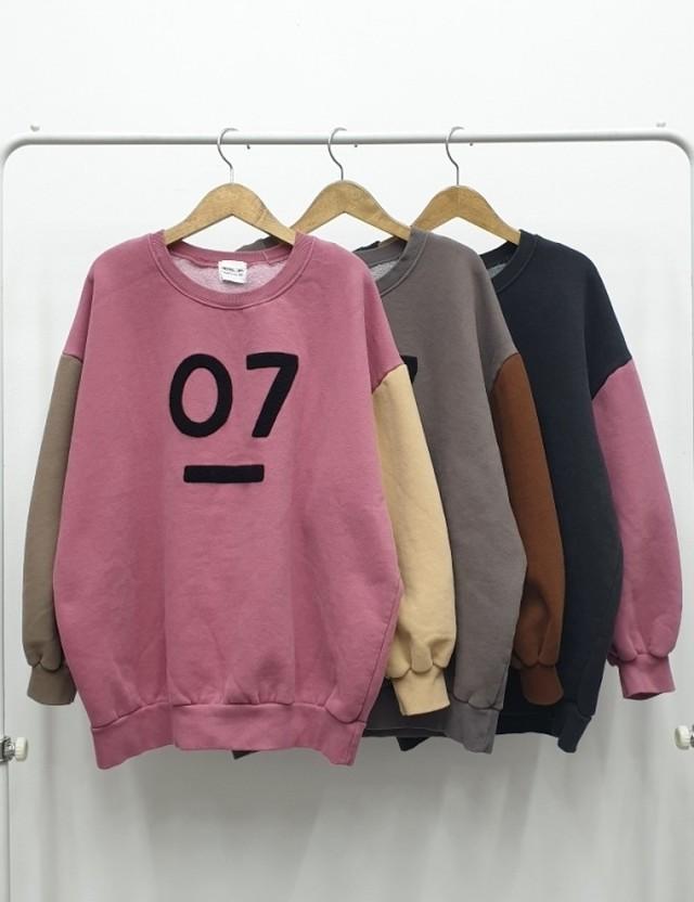07MTM ★UNISEX  MTM トレーナー スウェット 韓国ファッション