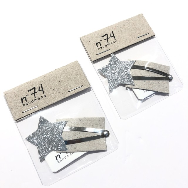 numero74(ヌメロ74)Star ピン/星 ヘアアクセ