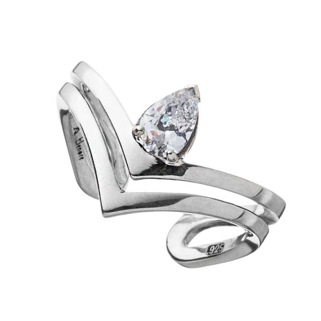 ティアドロップVリングCL AKR0054 レディースサイズ Teardrop V-ring CL Ladies size