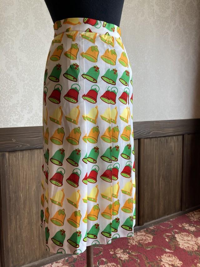 カラフルベル プリーツスカート