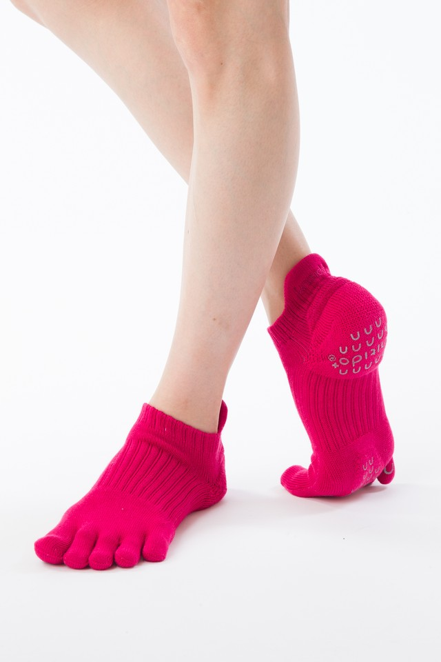 Foot arch COLOR アンクル(Support Type) 5本指ソックス 110061